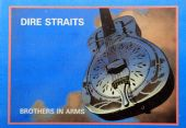 Dire Straits - 'Brothers in Arms' Postcard